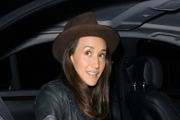 Maggie Q Celebs Get Dinner in West Hollywood
