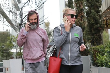 Marc Silverstein Busy Philipps & Marc Silverstein Leaving Soul Cycle