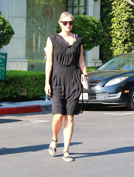 Maria Sharapova Heads Out and About in LA