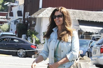 Maria Shriver Maria Shriver is All Smiles in Brentwood