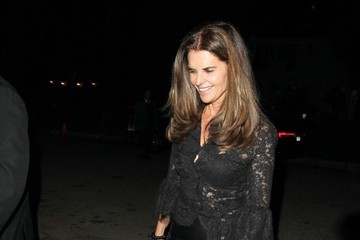 Maria Shriver Celebrities Enjoy A Night Out In Los Angeles