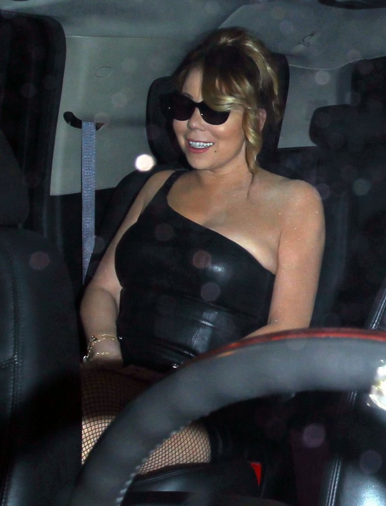 Mariah Carey Leaving Mr.Chow Restaurant in Beverly Hills 08/02/2016