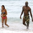 Mario Balotelli and Fanny Neguesha