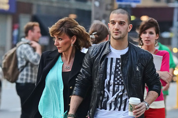 Shirley Ballas Mark Ballas And Mom Shirley Out For A Walk In New York