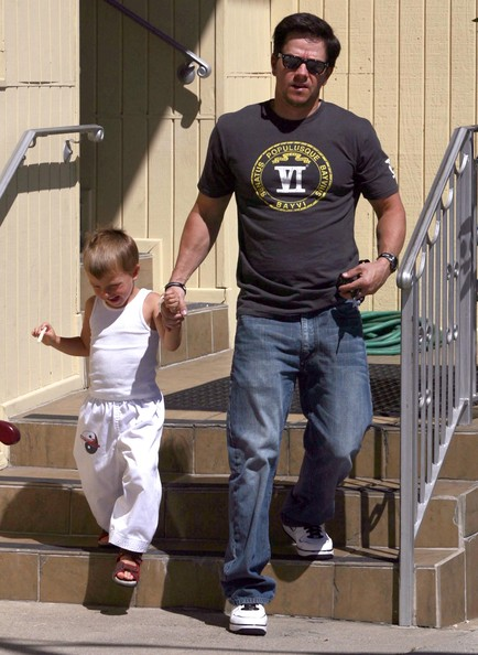 Wahlberg Michael Mark Wahlberg And Son Michael