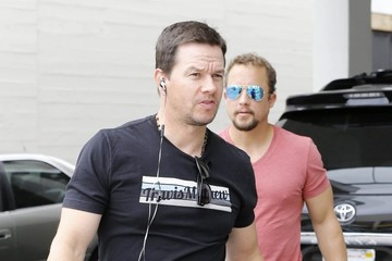 Mark Wahlberg Mark Wahlberg Lunches in Beverly Hills