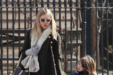 Marlowe Sturridge Sienna Miller Runs Into Claire Danes During A Stroll Through NYC