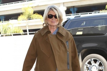 Martha Stewart Marth Stewart Arrives at LAX
