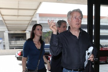 Martin Sheen Martin Sheen Leaves LA