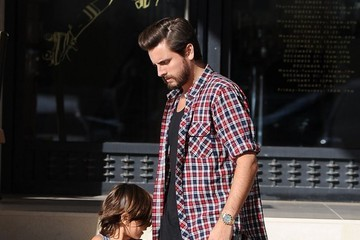Mason Disick Pregnant Kourtney Kardashian & Family Shopping At Barneys New York