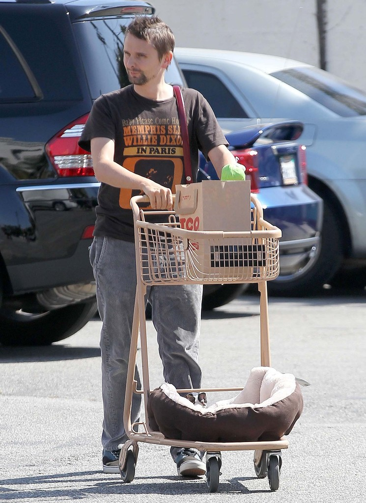 Matt Bellamy Hits Petco With Ryder Robinson And Picks Up
