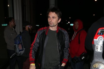 Matt Bellamy Celebrities Visit Catch Restaurant in West Hollywood