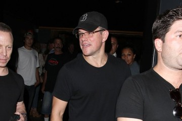 Matt Damon Celebs Come Out for Coldplay