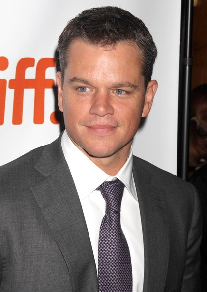 Matt Damon Informant Matt Damon at 39 The Informant 39