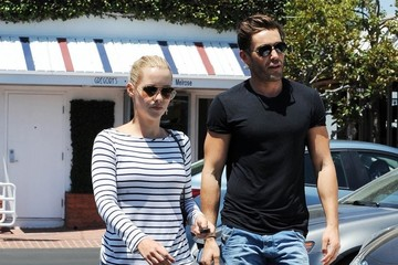 Matt Kaplan Claire Holt and Matt Kaplan Leaving Fred Segal