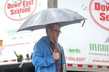 Matthew Broderick Sarah Jessica Parker & Matthew Broderick Get Caught In The Rain