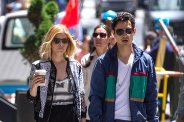 Max Minghella Kate Mara and Max Minghella Get Coffee