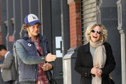 Meg Ryan and Son Jack Quaid Out and About in New York City