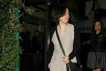 Meg Tilly Celebs Grab Dinner in Beverly Hills