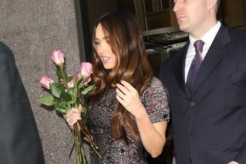 Megan Fox Megan Fox Gets Sirius In New York City