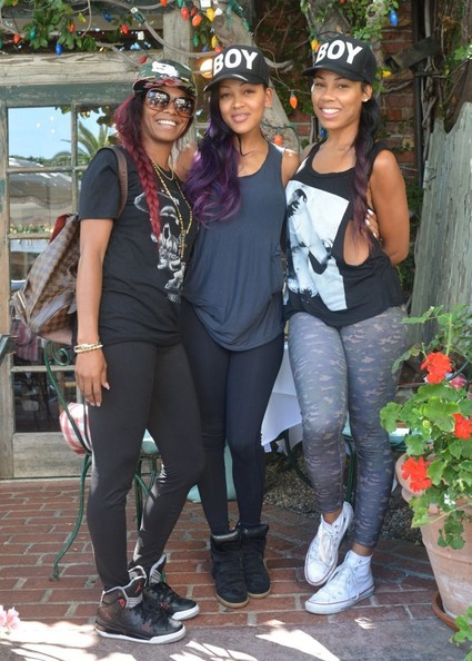 Photo of Meagan Good & her friend   -