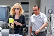Melanie Griffith Leaves Epione Skincare in Beverly Hills