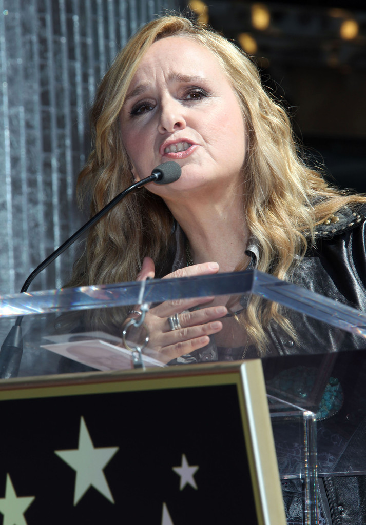 Melissa Walked Into The Cpc Terrified I Think I Am: Melissa Etheridge Hollywood Walk Of Fame Ceremony