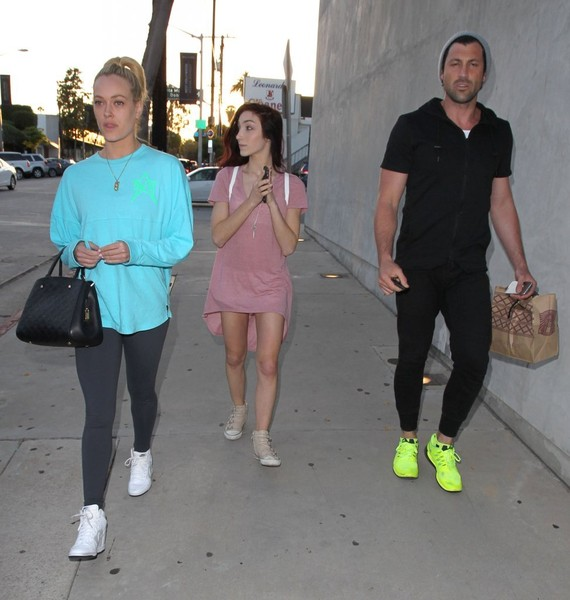 'Dancing with the Stars' Celebrities Out for Lunch