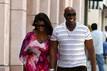 Michael Clark Duncan Michael Clarke Duncan and Lady Friend Out in LA