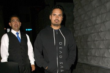 Michael Pena Celebs Get Dinner in West Hollywood
