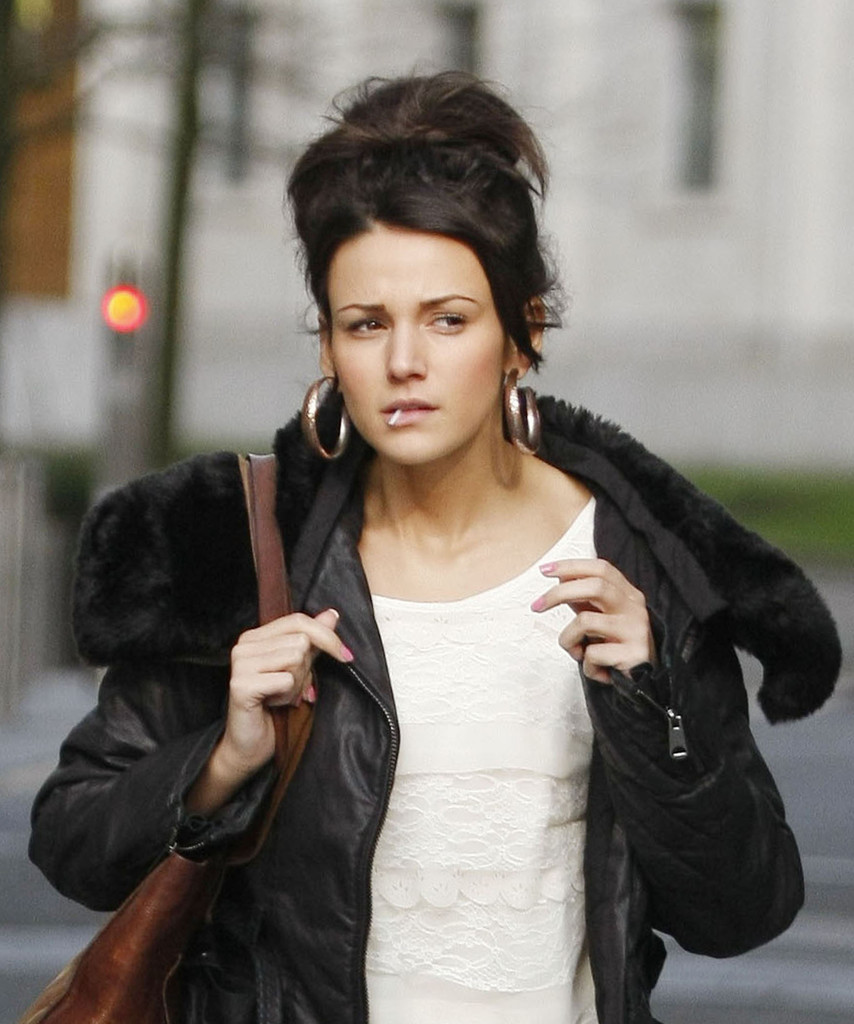 Michelle Keegan Isn't Wearing Her Engagement Ring