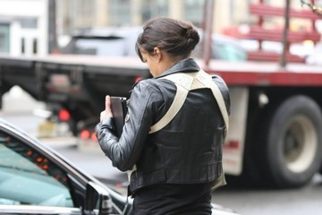 Michelle Rodriguez Michelle Rodriguez Out And About In NYC