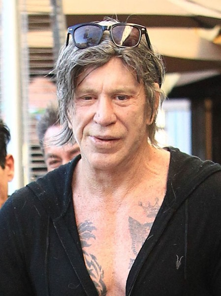 Mickey Rourke Photos P...