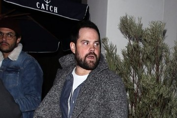 Mike Comrie Celebrities Are Seen at Catch Restaurant