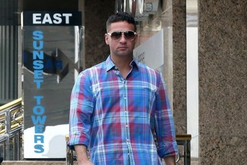 Mike Sorrentino Mike Sorrentino Grabs Lunch With a Friend