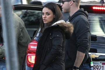 Mila Kunis Mila Kunis on Her First Day on the Set of 'Bad Moms'