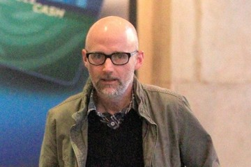 Moby Moby Plays With a Dog at The Grove