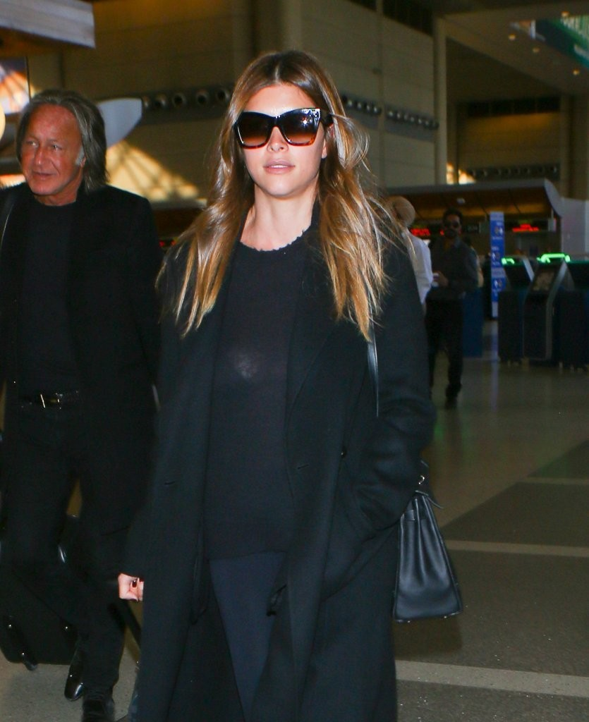 Mohamed Hadid & Shiva Safai Depart From LAX - Zimbio