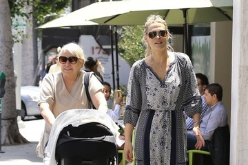 Molly Sims Molly Sims Out With Her New Baby Girl