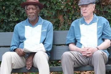 Morgan Freeman Stars on the Set of 'Going in Style' in NYC