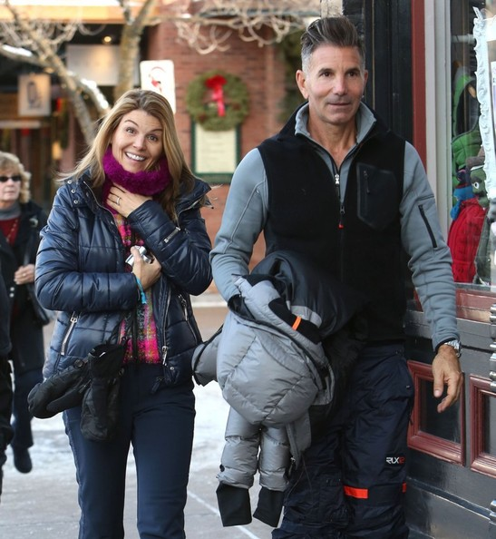 Lori Loughlin And Her Husband Hang Out In Aspen