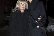 Singer Nancy Sinatra spotted out and about with her daughter in New York City, New York on March 2, 2015. Nancy claims that Mia Farrow's son Ronan Farrow is not of blood relation to her father Frank Sinatra.