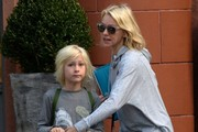 Naomi Watts Out and About With Her Kids in New York