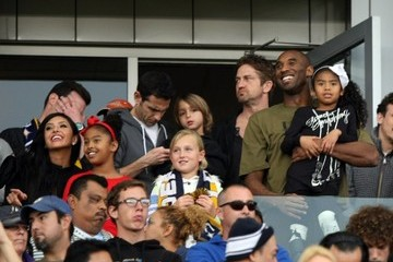 Natalia Bryant David Beckham Says Good-bye To The MLS With A Victory!