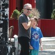 Nathan Stewart Jon Stewart Out in NYC With His Son