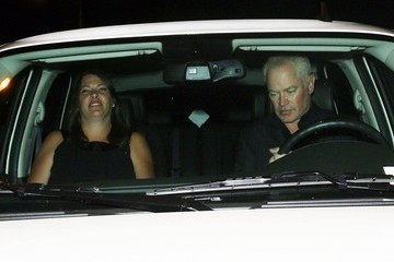 Neal McDonough Ruve Robertson Celebs Dine Out at Mr Chow — Part 2