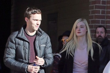 Nicholas Hoult Celebs Out At The 2014 Sundance Film Festival