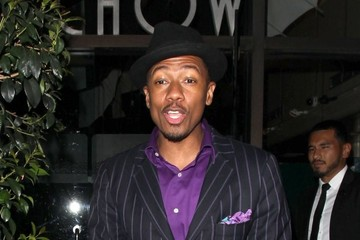 Nick Cannon Celebrities Dine Out at Mr. Chow's Restaurant