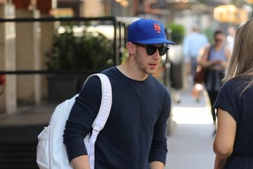 Nick Jonas Nick Jonas Heads Out and About in NYC