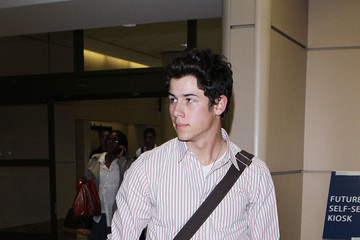 Nick Jonas Nick Jonas Arriving At Los Angeles International Airport